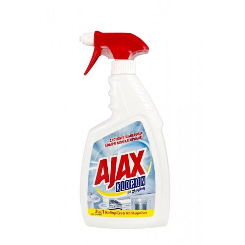 Ajax Kloron Spray Χλώριο με Αντλία (750 ml τεμάχιο/12 τεμάχια στο κιβώτιο)