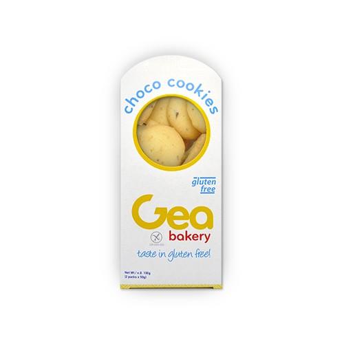 Μπισκότο Μίνι Cookies Λευκή Σοκολάτα Χωρίς Γλουτένη  (100 gr τεμάχιο/12 τεμάχια στο κιβώτιο)