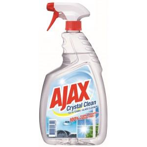 Ajax Τζαμιών με Αντλία Crystal (750 ml τεμάχιο/12 τεμάχια στο κιβώτιο)