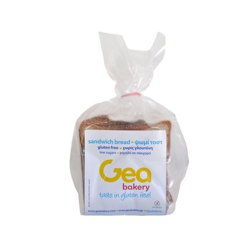 Ψωμί Τόστ Χωρίς Γλουτένη (450 gr πακέτο- 12φέτες στο πακέτο/6 πακέτα στο κιβώτιο)