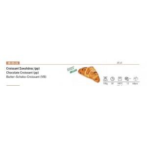 Croissant Σοκολάτας (pp) 100 gr Κατεψυγμένο (60 τεμάχια στο κιβώτιο)