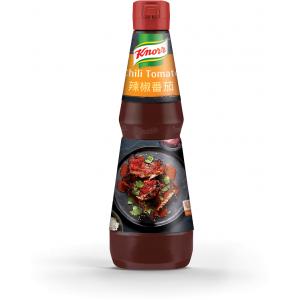 """Πικάντικη Σάλτσα με Τσίλι και Τομάτα """"Knorr"""" (1 lt τεμάχιο/6 τεμάχια στο κιβώτιο)"""