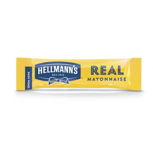 """Μαγιονέζα Μερίδα """"Hellmann's"""" 10 ml (198 τεμάχια στο κιβώτιο)"""