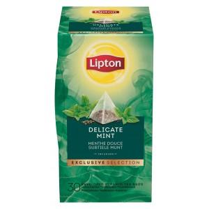 """Τσάι Πυραμίδα Μέντα """"Lipton"""" (1 πακέτο - 30 Φακελάκια Χ 1.1 gr /6 πακέτα στο κιβώτιο)"""