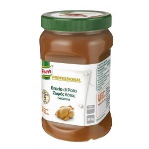 """Ζωμός Κοτόπουλου σε Gel Επαγγελματικός """"Knorr""""  (800 gr τεμάχιο/2 τεμάχια στο κιβώτιο)"""