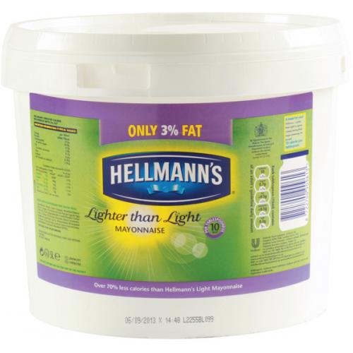 Μαγιονέζα Αναπλήρωμα 3% Λιπαρά Hellmann's 5Lt