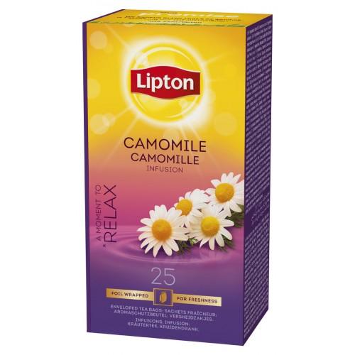 """Χαμομήλι """"Lipton"""" (1 πακέτο - 25 Φακελάκια Χ 1 gr /6 πακέτα στο κιβώτιο)"""