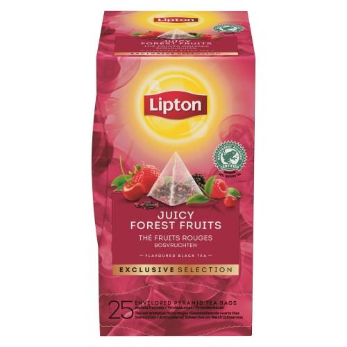"""Τσάι Πυραμίδα Φρούτα Του Δάσους """"Lipton"""" (1 πακέτο - 25 Φακελάκια Χ 1.7 gr /6 πακέτα στο κιβώτιο)"""