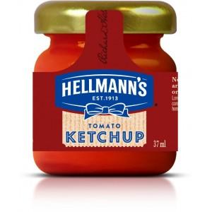 """Κέτσαπ Μίνι Βαζάκι """"Hellmann's"""" 33 ml (80 τεμάχια στο κιβώτιο)"""