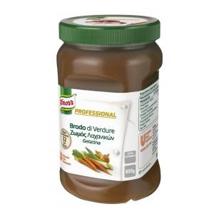 """Ζωμός Λαχανικών σε Gel Επαγγελματικός """"Knorr"""" (800 gr τεμάχιο/2 τεμάχια στο κιβώτιο)"""