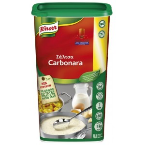 """Αφυδατωμένη Σάλτσα Καρμπονάρα """"Knorr"""" (1 Kg τεμάχιο/6 τεμάχια στο κιβώτιο)"""