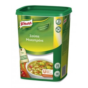 """Σούπα Μινεστρόνε """"Knorr"""" (900 gr τεμάχιο/6 τεμάχια στο κιβώτιο)"""