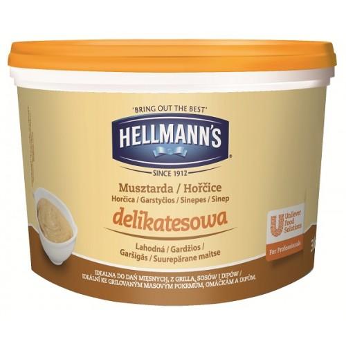 Μουστάρδα Bucket Hellmann's (3 Kg τεμάχιο)