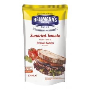 "Dressing για Σάντουιτς Λιαστή Τομάτα & Βασιλικός ""Hellmann's"" (570 ml τεμάχιο/5 τεμάχια στο κιβώτιο)"