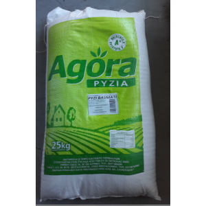 """Ρύζι Basmati Ινδίας """"Agora"""" 25 Kg"""
