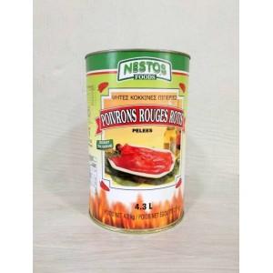 Πιπεριές Φλωρίνης (4,250 τεμάχιο-2,500 καθαρό βάρος/6 τεμάχια στο κιβώτιο)