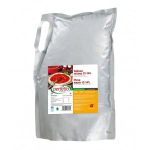Σάλτα Πίτσας 12-14% Συμπύκνωση σε Ασκό (3 Kg τεμάχιο/6 τεμάχια στο κιβώτιο)