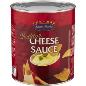 """Τυρί Κρέμα Τσένταρ Sauce """"Santa Maria"""" (3 Kg τεμάχιο/3 τεμάχια στο κιβώτιο)"""