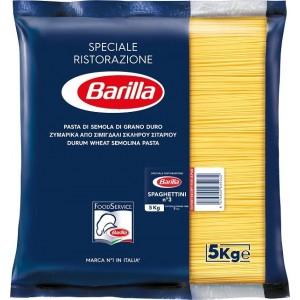 """Μακαρόνια Νο3 Spagettini """"Barilla"""" (5 Kg τεμάχιο / 3 τεμάχια στο κιβώτιο)"""