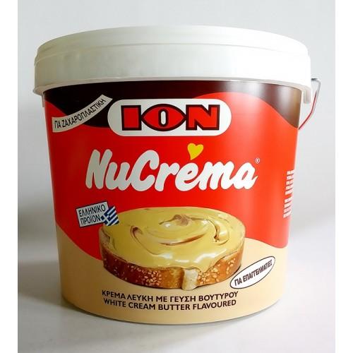 """Πραλίνα (Κρέμα) Σοκολάτας Λευκή """"Nucrema"""" 12 Kg"""