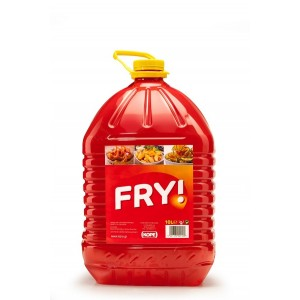 """Λάδι Τηγανίσματος Pet """"Fry"""" 10 Lt"""