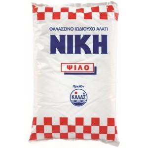 """Αλάτι Ψιλό """"Νίκη"""" (500 gr τεμάχιο/24 τεμάχια στο κιβώτιο)"""